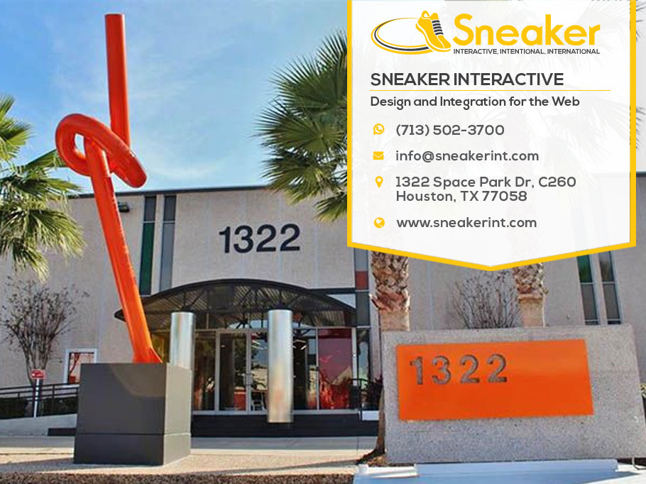 Sneaker Interactive location 1322 Space Park Drive Houston TX 77058